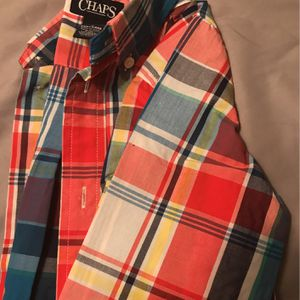 Chaps Red Plaid Boys Shirt for Sale in Schaumburg, IL