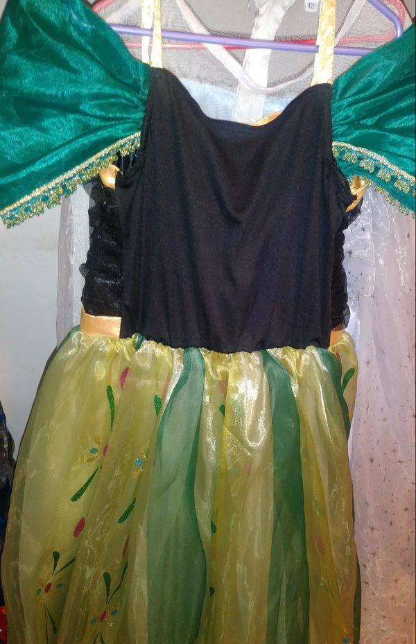 Frozen Disney Princess dresses