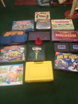 Are a few adults and kids games for Sale in Detroit, MI