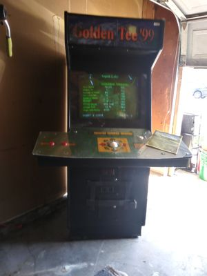 97 Golden Tee Full size Arcade Console for Sale in Stockton, CA