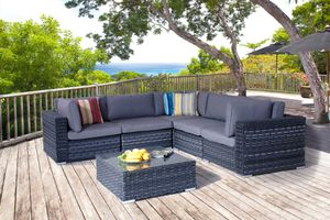 Great L-Shaped patio furniture set with coffee table ~ NEW! for Sale in Poway, CA
