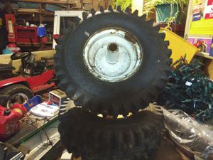 Toro snowblower tires w rims for Sale in East Dundee, IL