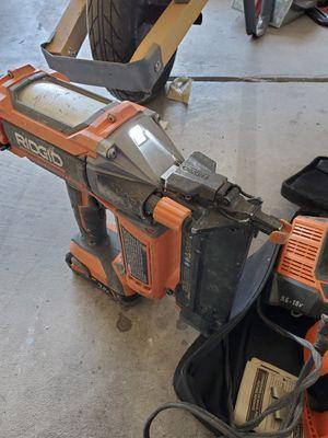 Ridgid nail gun and impact drill for Sale in Las Vegas, NV