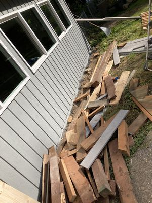 Free wood lumber must take all for Sale in Snohomish, WA