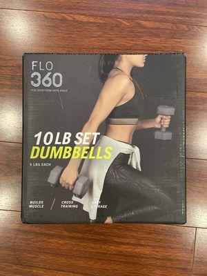 10 lb total dumbbells pair (5 lb each) for Sale in Huntington Beach, CA