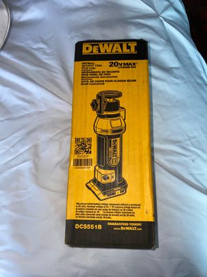DeWalt 20V Drywall cut-out tool for Sale in Cathedral City, CA