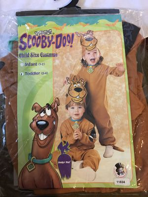 Scooby-doo infant Halloween costume for Sale in Glendale Heights, IL