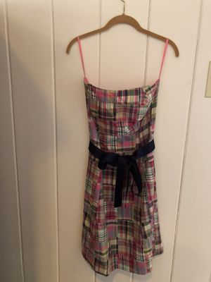 """Preppy """"Molly B"""" Madras Sun Dress size 6 - super flattering! Excellent condition for Sale in Washington, DC"""