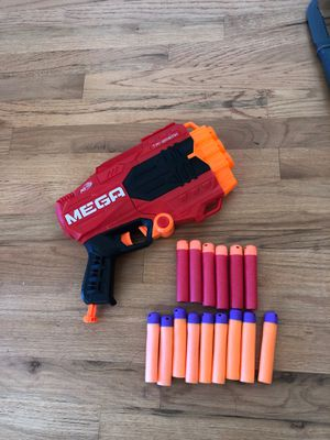 Mega nerf gun & lots of darts for Sale in Roselle, IL