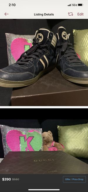Gucci navy sneakers for Sale in Alexandria, VA