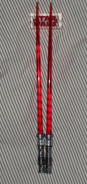 Star Wars Lightsaber Chopsticks for Sale in Skandia, MI