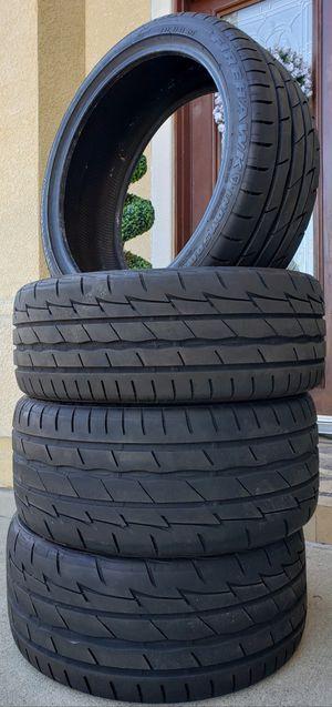 EXCELLENT CONDITION Firestone SET OF 4 Tires FIREHAWK Indy 500 Sz Size 255/35R19 96W for Sale in Monterey Park, CA