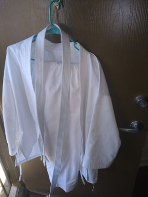 Karate outfit and belt for Sale in Scottsdale, AZ