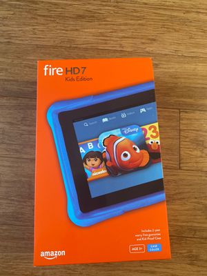 "Amazon Fire HD 7"" Kids Edition (open box) for Sale in Los Angeles, CA"