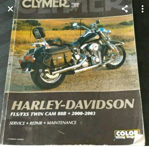Clymer HD service manual for Sale in Toms River, NJ