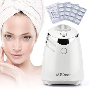 MS.DEAR Facial Mask Maker Machine Collagen Fruit Vegetable DIY Automatic Face Mask Making with 32 Counts Collagen Pills for Sale in Tacoma, WA