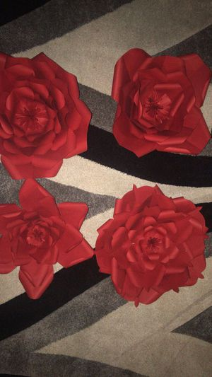 Paper flowers for Sale in Lawrence, MA