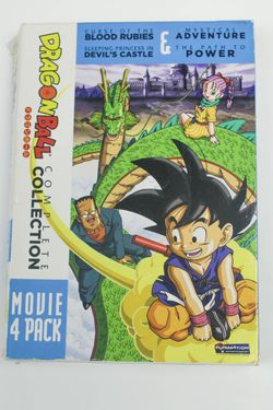 Dragonball Complete Collection: Movie 4 Pack (DVD, 2011, 4-Disc Set) for Sale in Atlanta,  GA