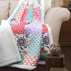 Lush Decor Brookdale Sherpa Throw for Sale in Houston,  TX