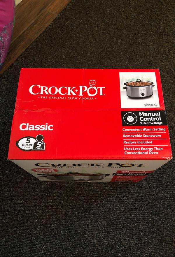 New! Crock Pot