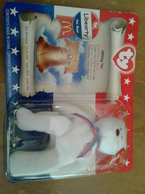 McDonald's TY Beanie Babies 1996 Liberty, Righty and Left set. for Sale in Tollhouse, CA