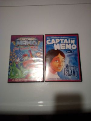Captain Nemo mystery island and the cora for Sale in Steubenville, OH