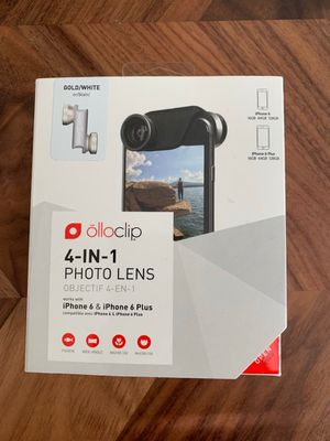 Olloclip 4-in-1 iphone photo lens for Sale in Nokesville, VA
