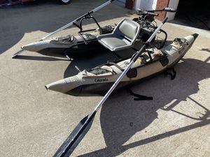Inflatable Pontoon Fishing Boat for Sale in Clarksville, TN