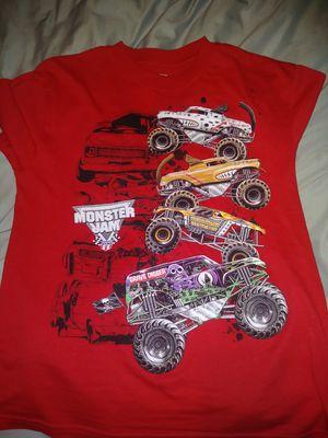 Monster jam shirt boys xxl for Sale in San Antonio, TX