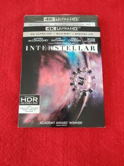 Interstellar Brand New In 4K! Back To The Future/Parasite And Others for Sale in Glendale,  AZ