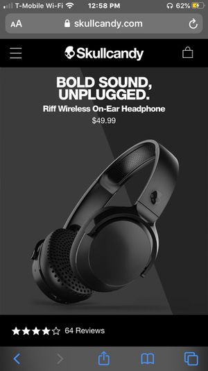Riff Bluetooth headphones for Sale in Silver Spring, MD