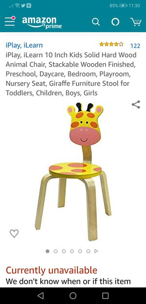 Wood kids chair for Sale in Huntersville, NC