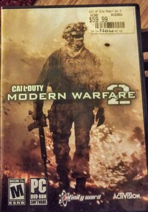 PC BRAND NEW CALL OF DUTY MODERN WAREFARE 2 for Sale in Saginaw, TX