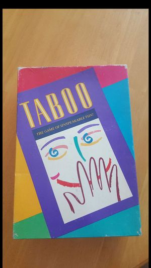 Vintage Taboo Board Game - FIRM PRICE for Sale in Leander, TX