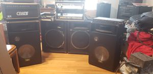 Assorted Dj/ sound equipment for Sale in Severn, MD