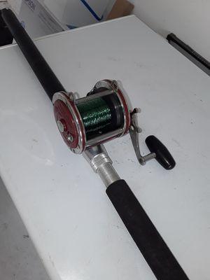 Fishing rod senator combo left handed reel. for Sale in Kissimmee, FL