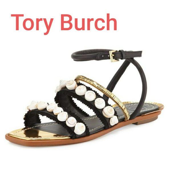 NEW Tory Burch Sinclair Seashell Size 5½