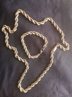 Gold Rope chain for sale for Sale in The Bronx, NY