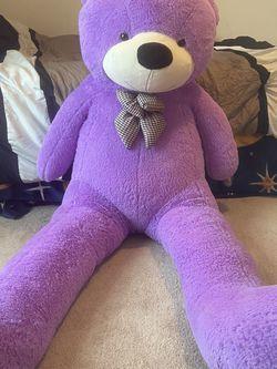 Giant 6ft Teddy Bear (Purple) for Sale in Seaford,  DE