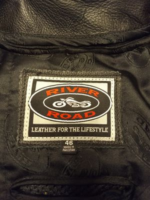 For sale : Like new XL leather motorcycle jacket for Sale in Appleton, WI