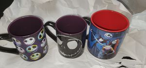 Disney Nightmare Before Christmas coffee mugs for Sale in Cleveland, TN