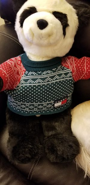 "Gund 20"" Plush Bear With Tommy Hilfiger for Sale in Sunrise, FL"