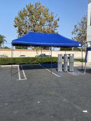 Heavy Duty Waterproof 10x20 Feet POP up Canopy Gazebo Tent No Assemble (open box item) for Sale in Fullerton, CA