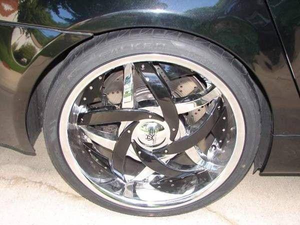"20"" Hipnotic Wheels are Tires"