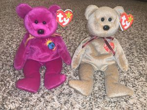 Ty Beanie Baby Bears Millennium and Signature 1999 Beanie Babies for Sale in Palatine, IL