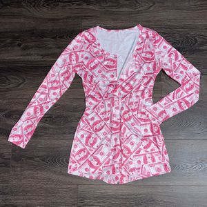 Pink Shmoney Long Sleeve Onesie for Sale in Crewe, VA