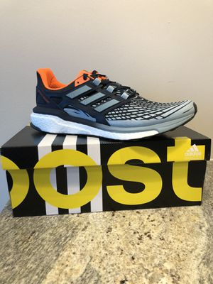 Mens Adidas Energy Boost. Collegiate Navy/Ash Grey/Solar Sz 11.5 US Style CP9540 for Sale in Nashville, TN