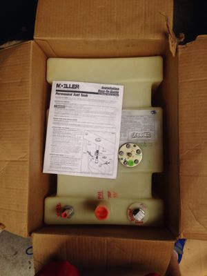 BRAND NEW Moller 12 gallon fuel tank ( OBO ) for Sale in Evansville, IN