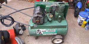 Sears ½hp air compressor paint sprayer for Sale in Del City, OK