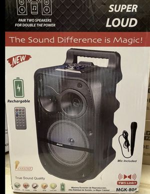 Super Loud Magic BlueTooth Speaker ( Brand New) for Sale in Tracy, CA